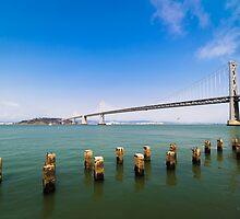 San Francisco – Oakland Bay Bridge by Reese Ferrier