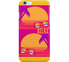 Relax at Sunset iPhone Case/Skin