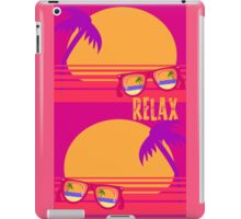 Relax at Sunset iPad Case/Skin