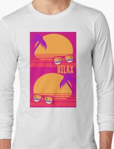 Relax at Sunset Long Sleeve T-Shirt