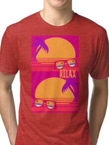 Relax at Sunset Tri-blend T-Shirt