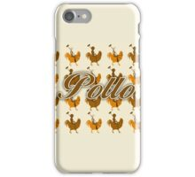 Pollo Pattern  iPhone Case/Skin