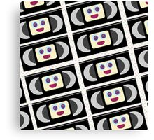 Cute VHS Tapes Canvas Print