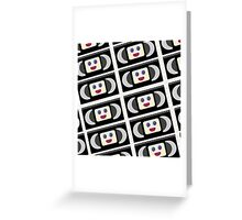 Cute VHS Tapes Greeting Card