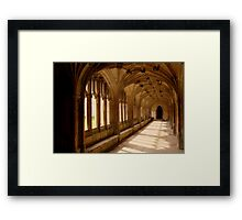 Lacock Abbey, Wiltshire. - Harry Potter Film Locations Framed Print
