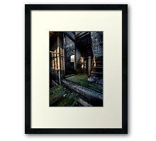 Viking's Lair Framed Print