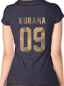 Kurama Jersey #09 Women's Fitted Scoop T-Shirt