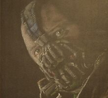 Original Tom Hardy as Bane by Will Dudley