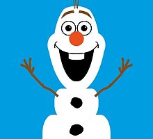 Olaf from Frozen by Jonathan Oldfield