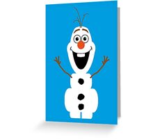 Olaf from Frozen Greeting Card
