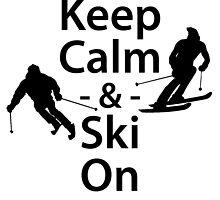 Keep Calm and Ski On by kwg2200