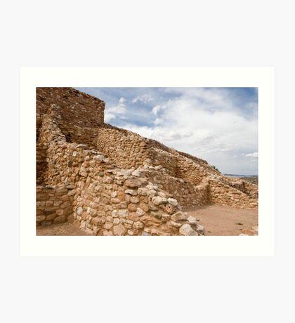 Tuzigoot Indian Ruins Art Print