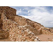 Tuzigoot Indian Ruins Photographic Print