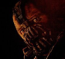 Digitally Enhanced version of Tom Hardy as Bane by Will Dudley
