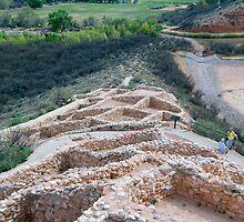 Tuzigoot Indian Ruins by randymir