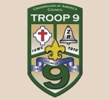 Troop 9 Crest by Wine1990