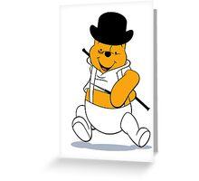 A Clockwork Pooh Greeting Card