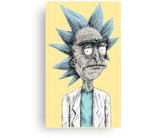 Real Rick Canvas Print