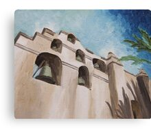 Mission San Gabriel Archangel Canvas Print