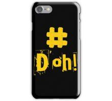 #D'oh! iPhone Case/Skin