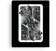 King of clubs Canvas Print