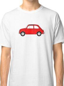 Fiat 500 Red Classic T-Shirt