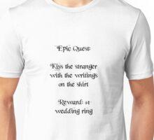 Wedding Ring Quest Unisex T-Shirt