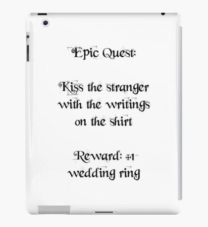 Wedding Ring Quest iPad Case/Skin