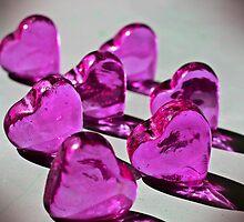 Pink Heart by dedakota