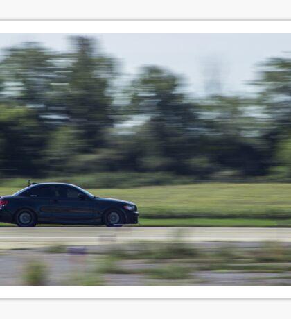 Black BMW 135i Sticker