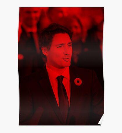 Justin Trudeau - Celebrity Poster