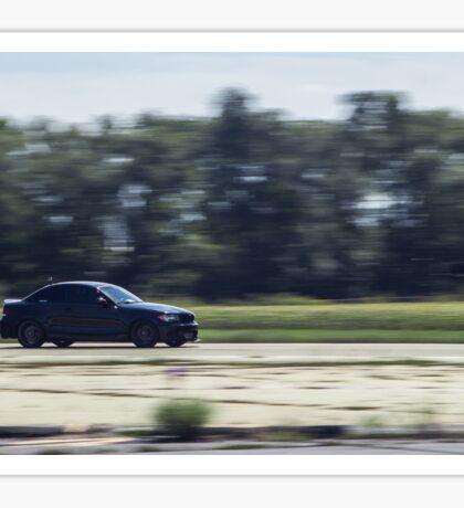 Black BMW 135i Racing Sticker