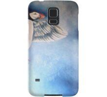 Angelic puffin Samsung Galaxy Case/Skin