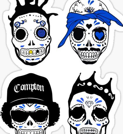 Consume Compton Skull Sticker