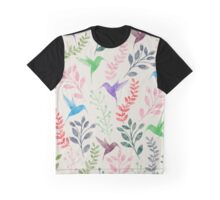 Floral and Bird II Graphic T-Shirt