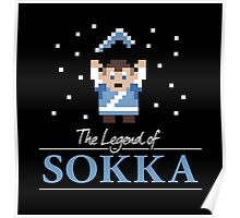The Legend of Sokka Poster