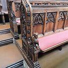 Bath Abbey Carvings by CreativeEm
