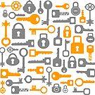Keys and locks by Alexzel