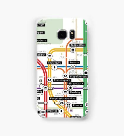 #tagsandthecity / New York Samsung Galaxy Case/Skin