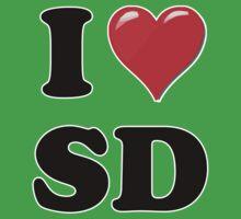 I Love SD Kids Clothes