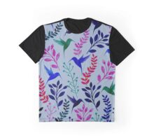 Floral and Bird IV Graphic T-Shirt