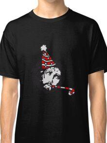 happy birthday geburtstag feiern party hut jesus dornen krone blut tot kreuz mord tropfen graffiti cool design sünde gestorben  Classic T-Shirt