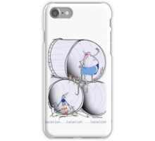 Location ! Location ! Location ! by Tony Fernandes iPhone Case/Skin