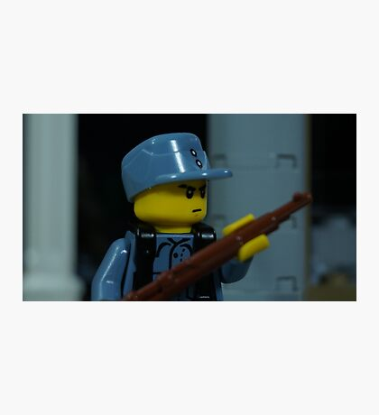 Lego WWII Chinese KMT Soldier Photographic Print