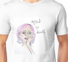 bored to death print Unisex T-Shirt