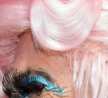 Brighton Pride - Big Wig Smile by Richard Burniston