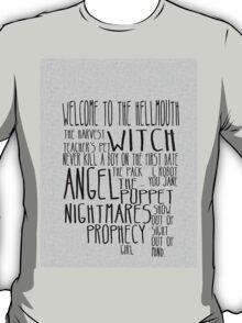 Buffy the Vampire Slayer Season 1 T-Shirt