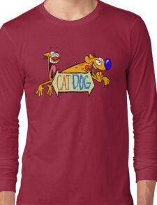 Cat Dog - Cartoon Long Sleeve T-Shirt