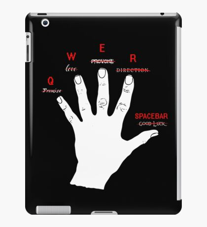 Gamer's hand iPad Case/Skin