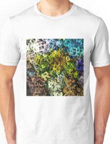 letter sunflowers Unisex T-Shirt